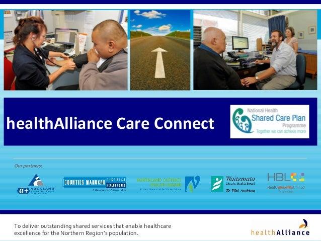 healthAlliance Care Connect - A National Health Shared Care Plan Program