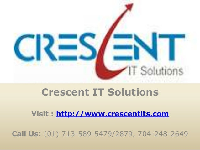 TIBCO Online Training and Placement @ Crescent IT Solutions