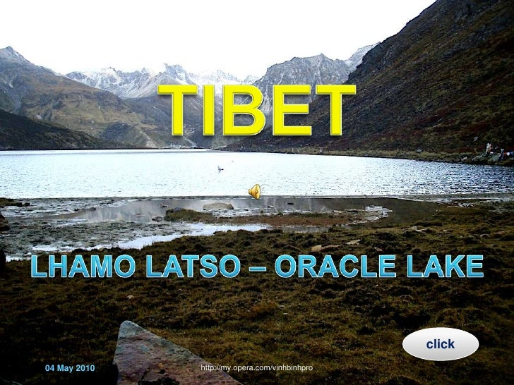 TIBET- Lhamo Latso (Oracle lake)