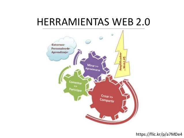 HERRAMIENTAS WEB 2.0 https://flic.kr/p/a7MDe4