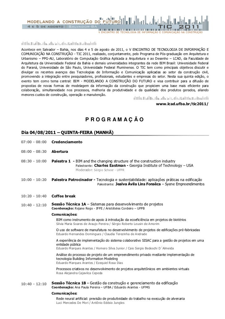 Tic 2011 programaçãofinal