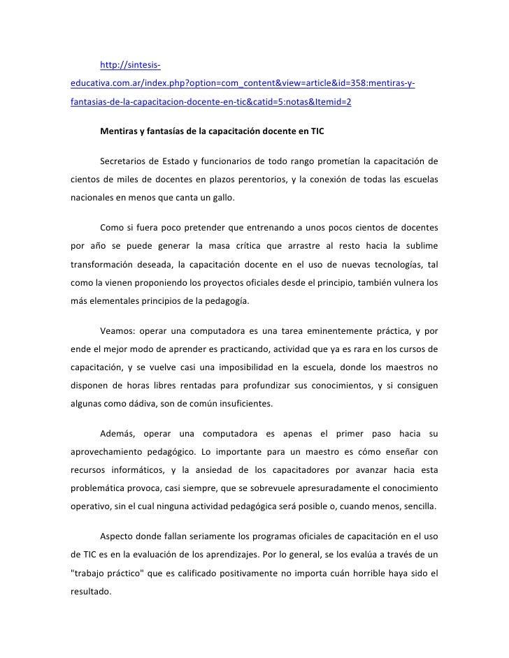 http://sintesis‐educativa.com.ar/index.php?option=com_content&view=article&id=358:mentiras‐y‐fantasias‐de‐la‐capacitacion‐...
