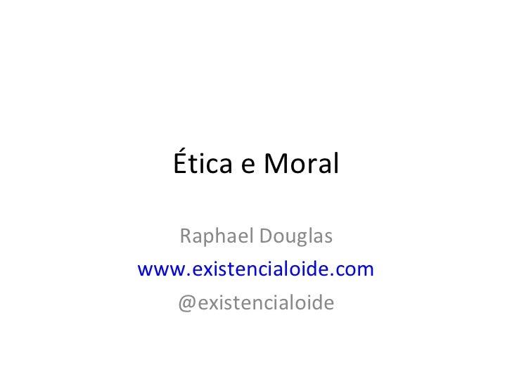 éTica x moral (prova)