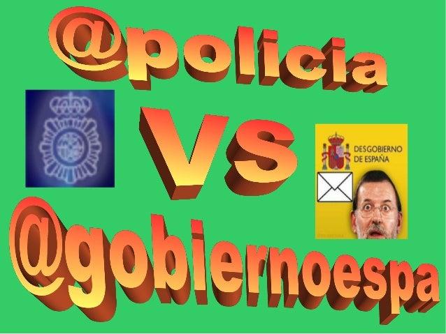 @policia @gobiernoespa Seguidores: 757 030 Seguidores: 209 641 Siguiendo: 0 Tweets: 7073 Tweets/dia: 8,49 Siguiendo: 413 T...