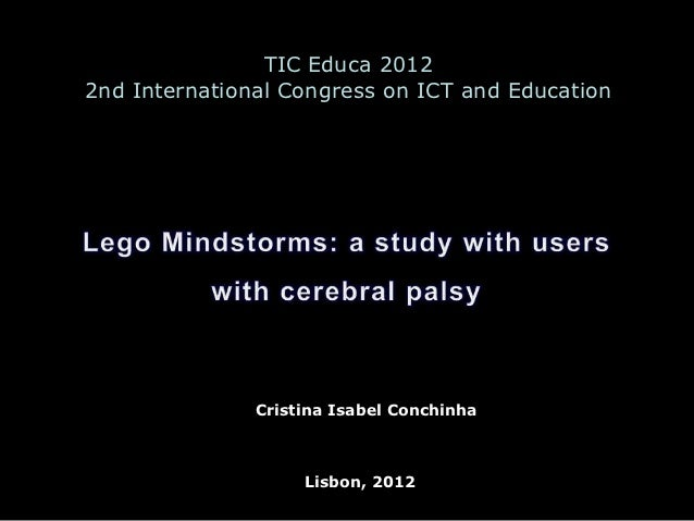 TIC Educa 20122nd International Congress on ICT and Education               Cristina Isabel Conchinha                    L...