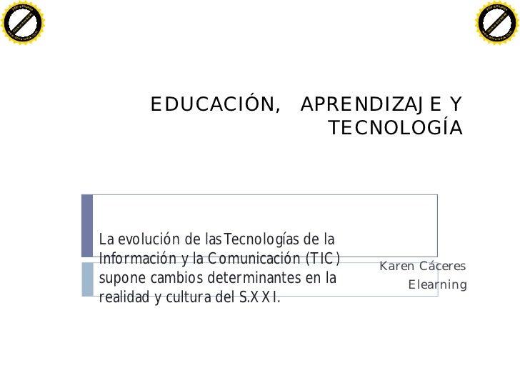 Tic EducacióN Aprendizaje