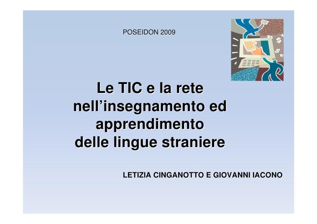 Tic E Insegn Appren L2 Cinganotto Iacono