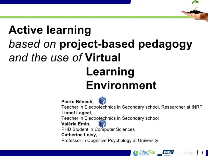 Active learning based on project-based pedagogy and the use of Virtual Learning Environment