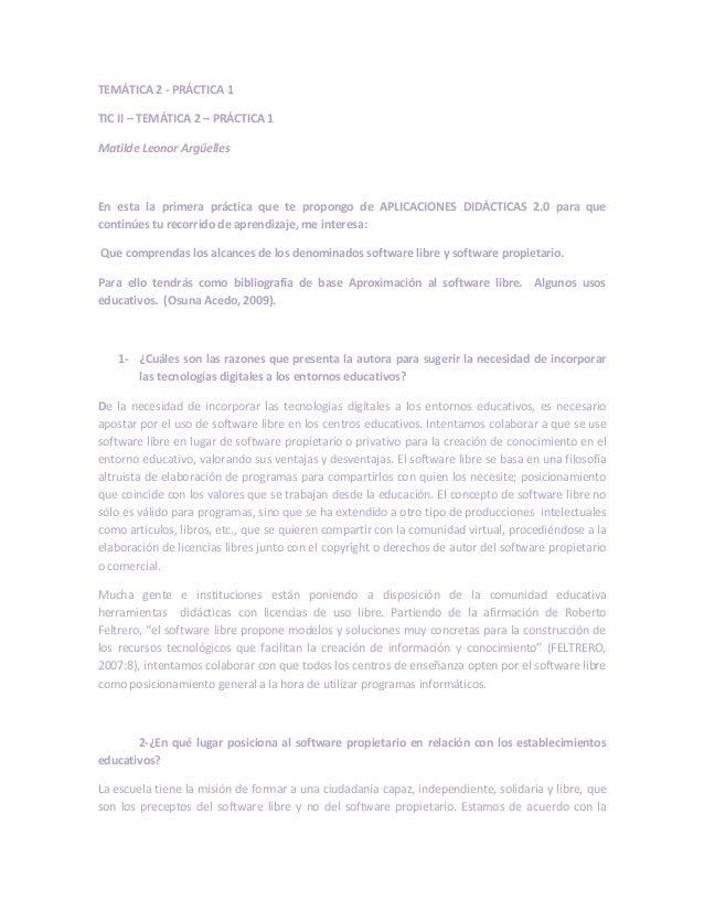 Tic ii  tematica 2-practica 1- Argüelles matilde