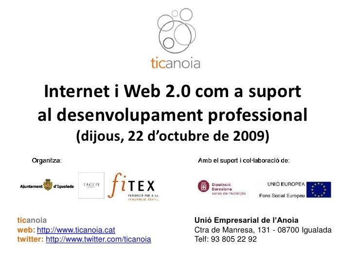 Ti Ci Web2 Desenvolupament Professional 20091022