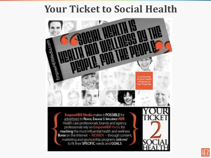 Your Ticket to Social Health