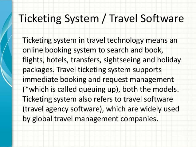 Galileo Software Air Ticketing