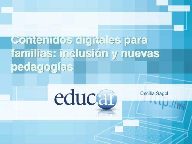 Presentación Cecilia Sagol para EIE Tema 7 Buenos Aires