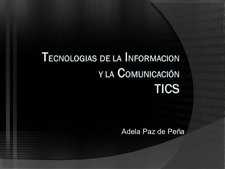 Adela Paz de Peña