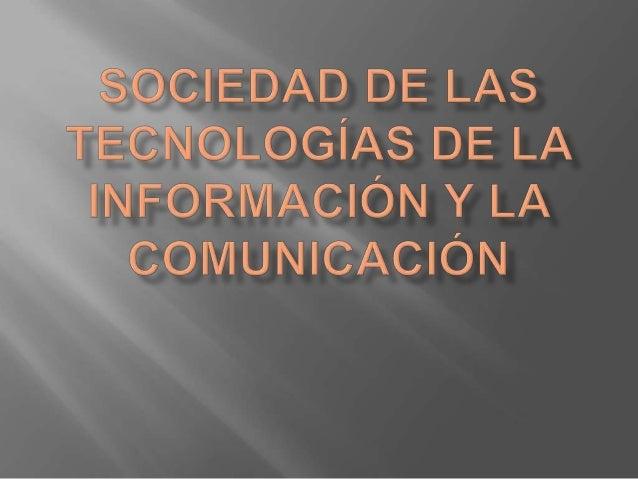 Las tecnologías de la información y la comunicación comprenden todos aquellos medios electrónicos quealmacenan, crean, rec...