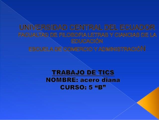  Las TICs pueden ser definidas en dos sentidos: Como las tecnologías tradicionales de la comunicación, constituidas princ...
