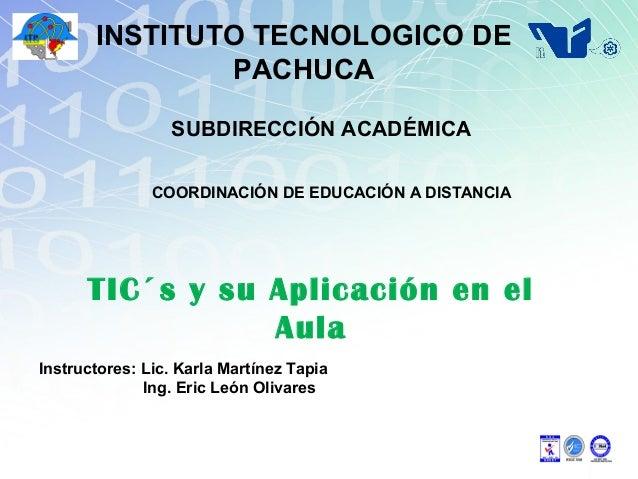 TICs y su aplicacion en el Aula