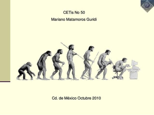 CETis No 50 Mariano Matamoros Guridi Cd. de México Octubre 2010