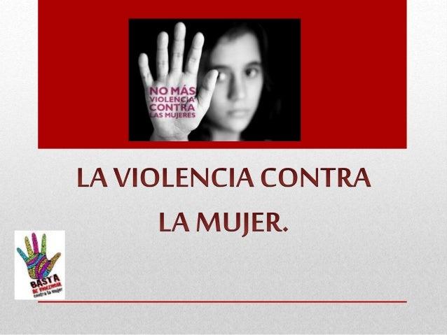 • Término aglutinante de todos los tipos de violencia ejercida contra este grupo de personas, siendo a menudo consecuencia...