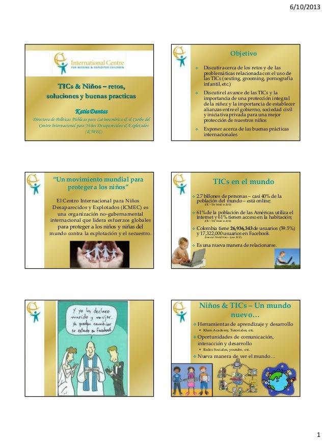 TIC vs niños - Retos, soluciones y buenas practicas por Katia Dantas