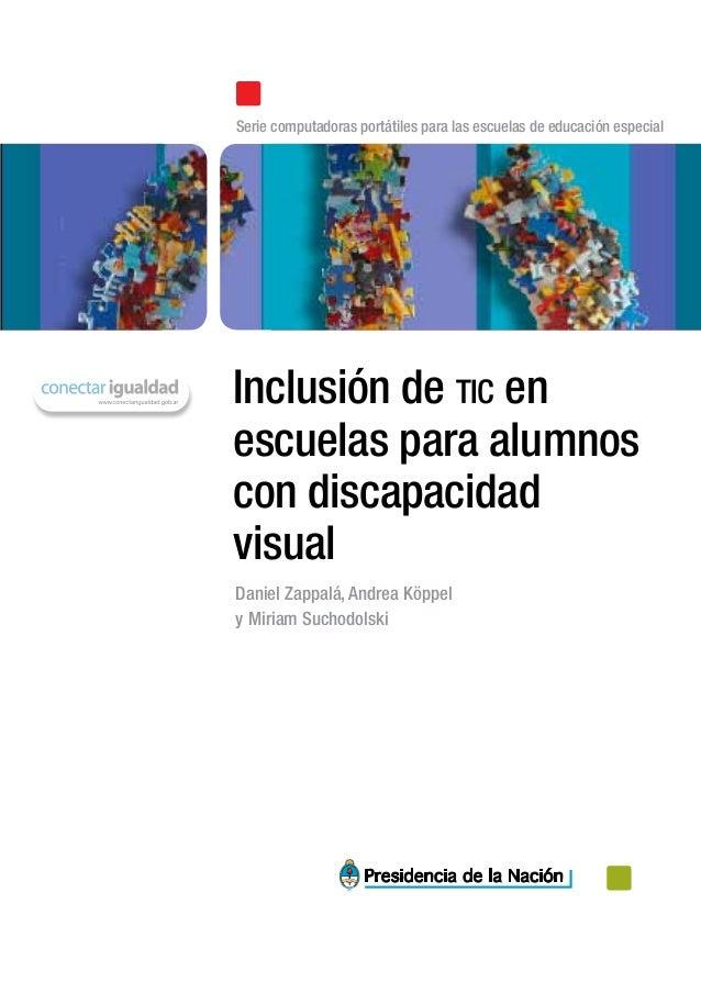 Tic y discapacidad visual