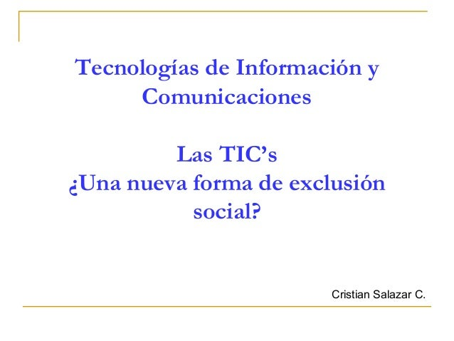 Ticylaexclusionsocial 100930101310-phpapp01