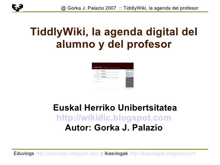 Tiddlywiki Es 1