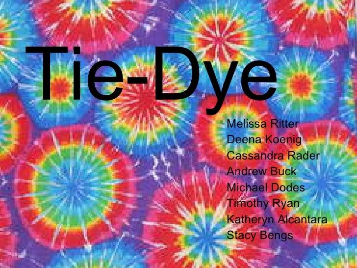 Tie Dye Final