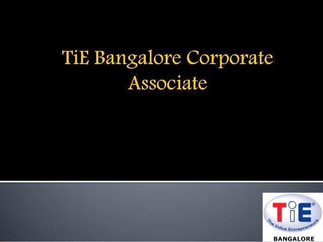TiE Bangalore Corporate Associate