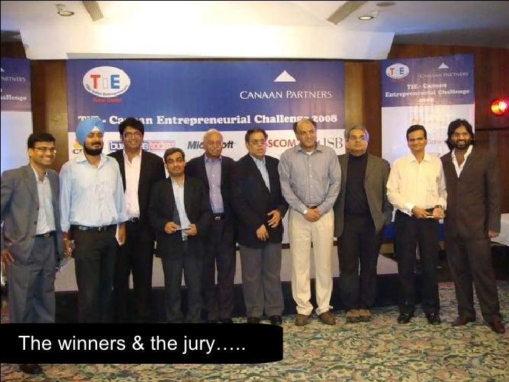 The winners & the jury…..