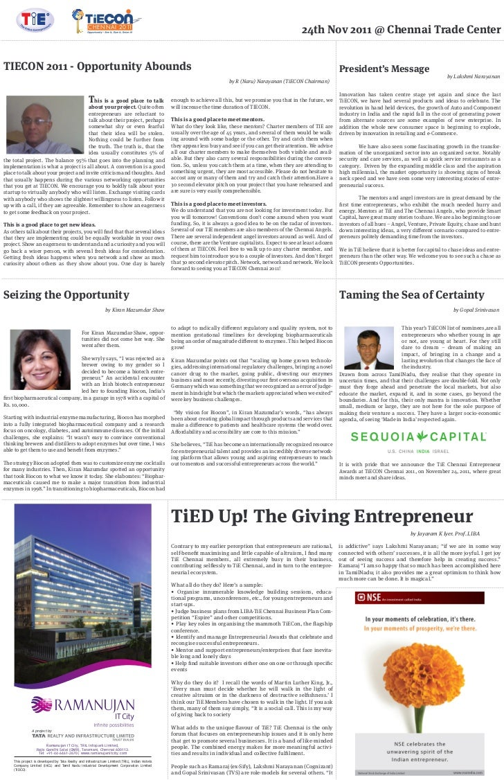 Tiecon business line page 2