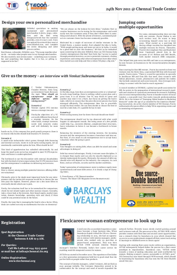 Tiecon business line page 4