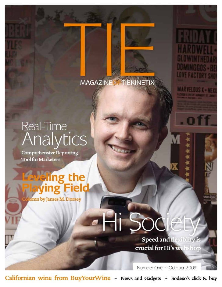 TIE Kinetix Magazine #1