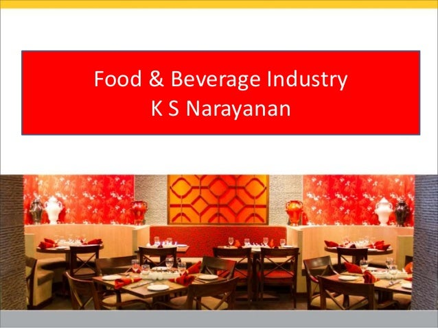 F&B market insights by KS Narayanan, CEO - PAN India Foodsolutions #TiEFoodCamp