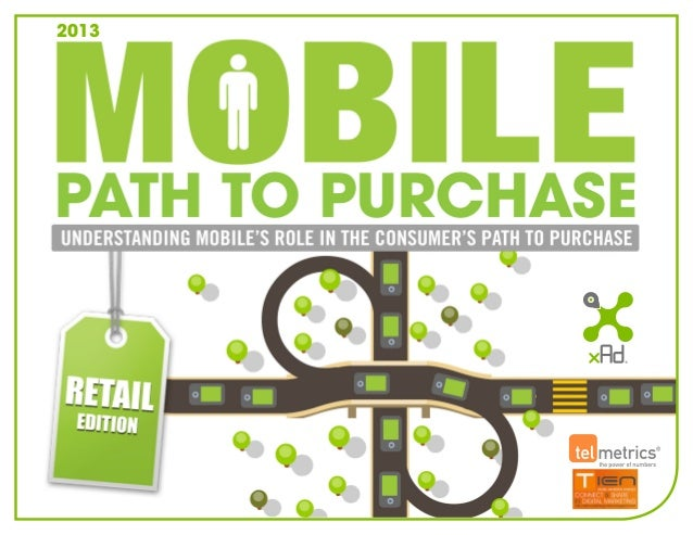 2013  Mobile Path to Purchase Study Understanding Mobile's Role in the Retail Path to Purchase