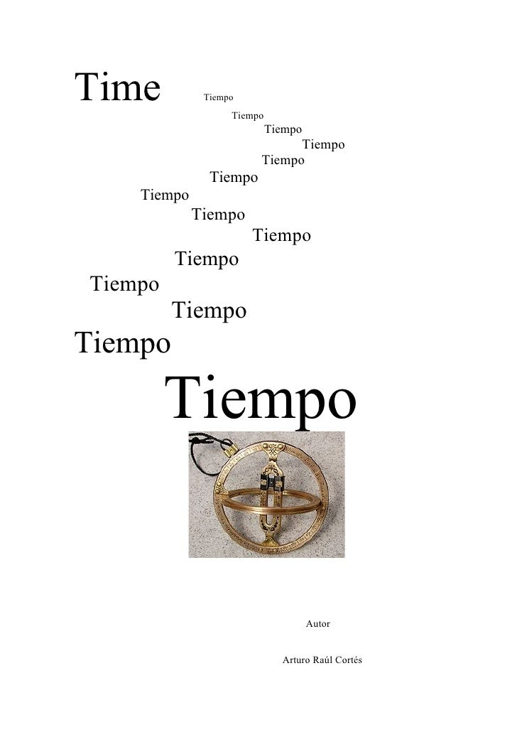 Time          Tiempo                    Tiempo                             Tiempo                               Tiempo    ...