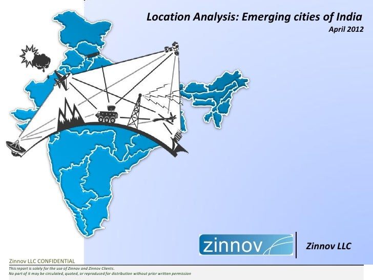 Location Analysis: Emerging cities of India                                                                               ...