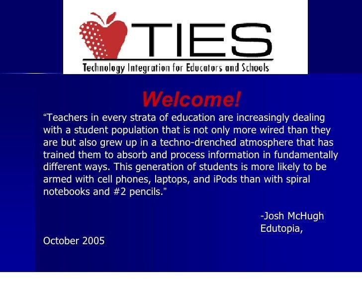 TIES Introduction Presentation