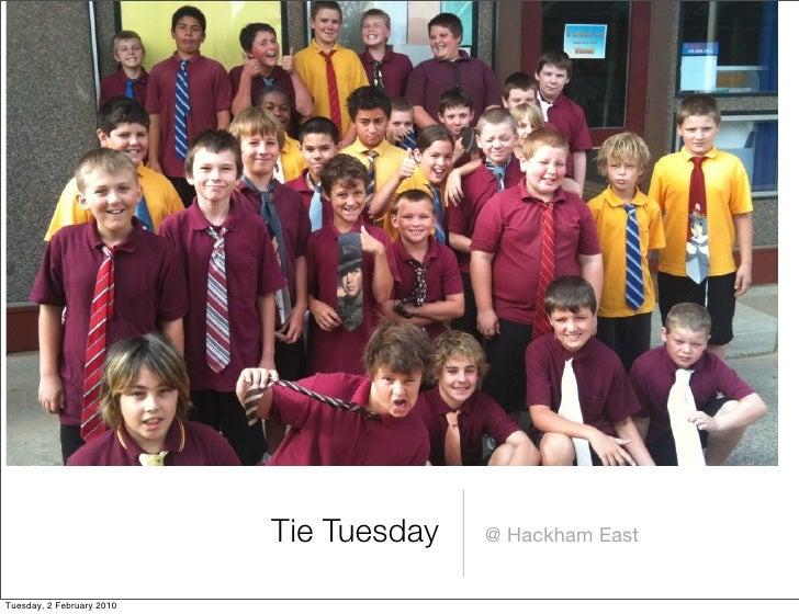 Tie Tuesday