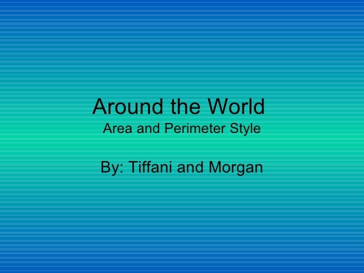 Tiffani Morgan Area And Perimeter Project