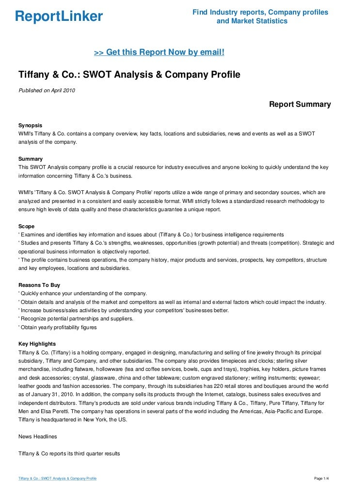 """pest analysis tiffany co Marketing analysis of mengniu dairy co essay  """"tiffany & co  table of contents 10 country analysis 4 11 hofstede cultural dimensions 4 12 pest analysis."""