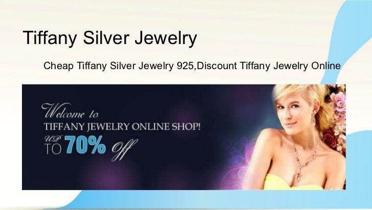 Tiffany silver jewelry