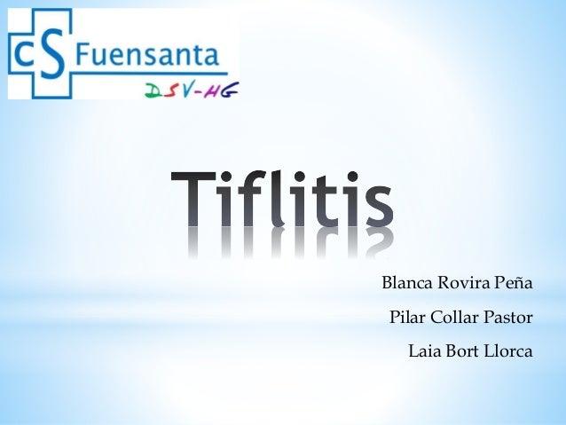 Blanca Rovira Peña Pilar Collar Pastor Laia Bort Llorca