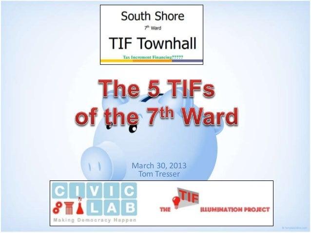 TIFs of the 7th Ward
