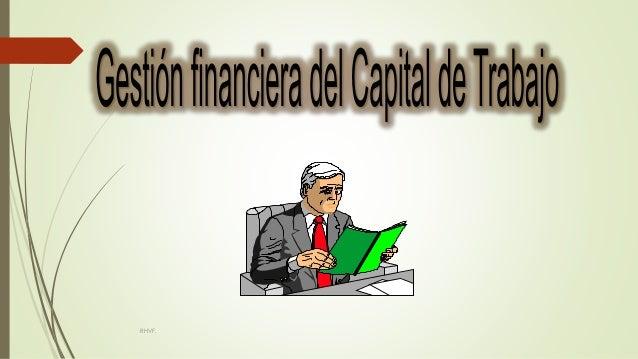 gestion financiera del capital de trabaj