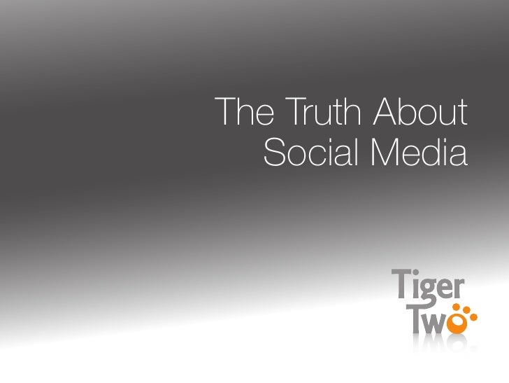 [Nancy Williams] The Truth About Social Media
