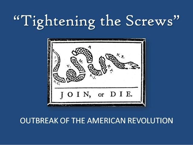Tightening the Screws