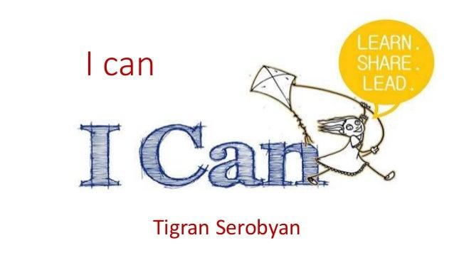 I can Tigran Serobyan