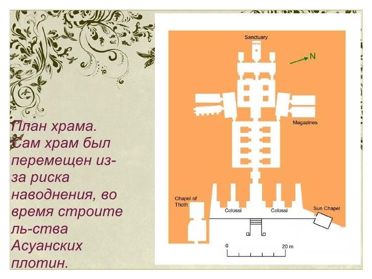 План храма.
