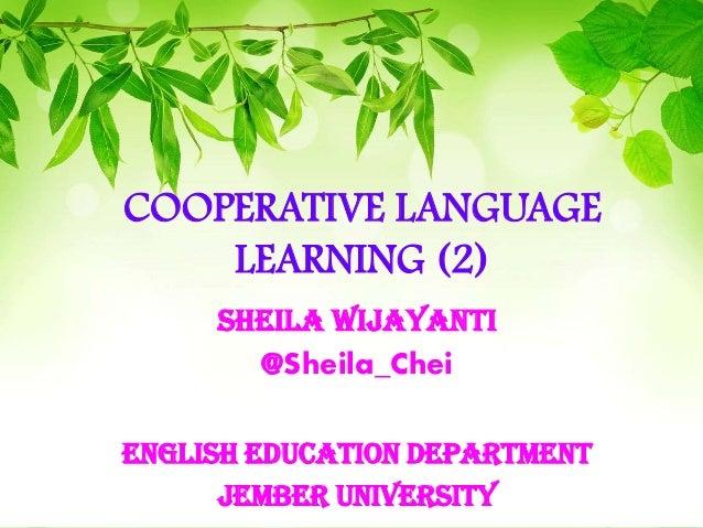 TEFL - Cooperative Language Learning Teaching (2)